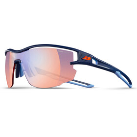 Julbo Aero Zebra Light Red Lunettes de soleil, dark blue/blue-multilayer blue